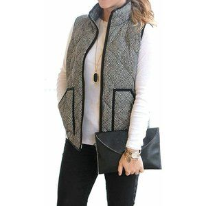 Meroketty Quilted Herringbone Vest Small NWT